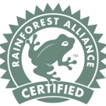 Logotipo certificado rainforest alliance