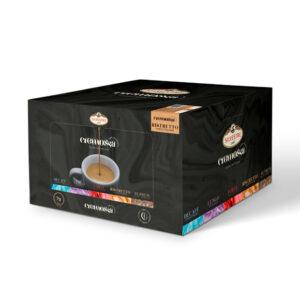 Caja de 100 cápsulas de café Cremossa Espresso Ristretto – Sistema FAP
