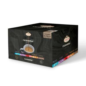 Caja de 100 cápsulas de café Cremossa Espresso Suprem – Sistema FAP