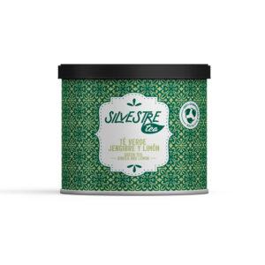 infusión de té verde con jengibre