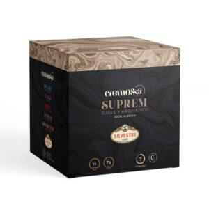 Estuche de 14 cápsulas de café Cremossa Espresso Suprem – Sistema FAP